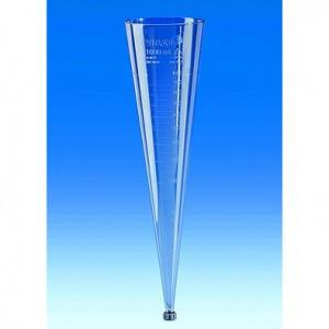 Phễu imhoff nhựa có chia vạch 1000ml 75991 Vitlab